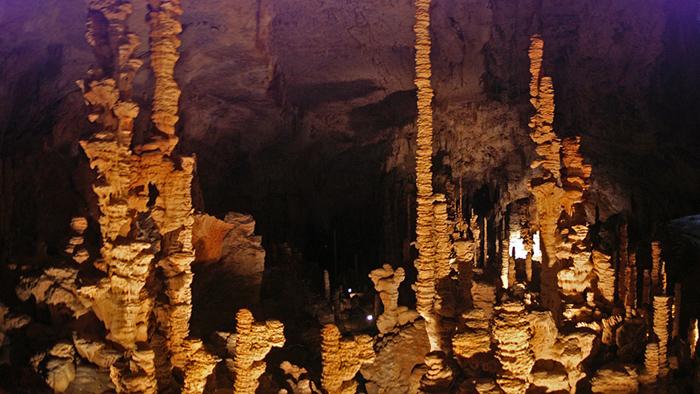 La grotte l'Aven d'Orgnac