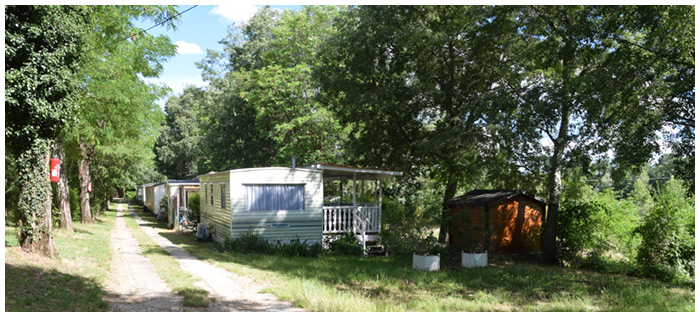 Locations chalets, mobil-homes au camping Chaulet Village