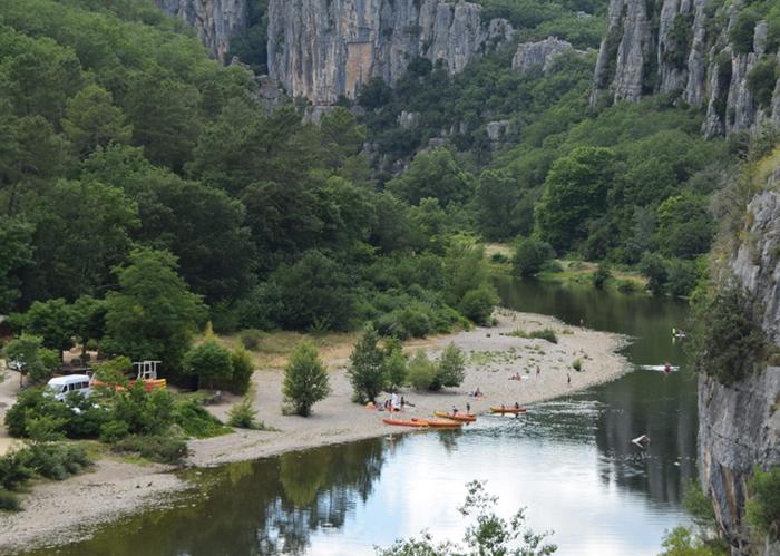 Pêche au camping Chaulet Village