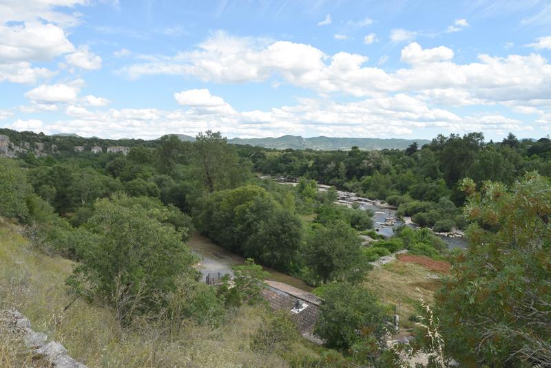 Horizon et vue au camping Chaulet Village