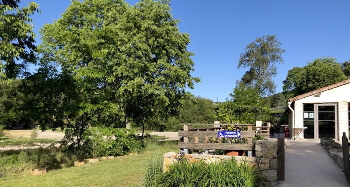 Vue du restaurant au camping Chaulet Village